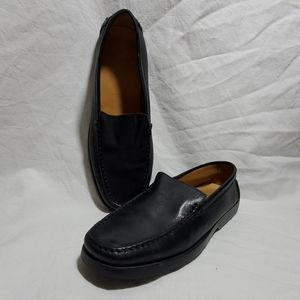 Tods black loafers slip on Size 38 USA 8
